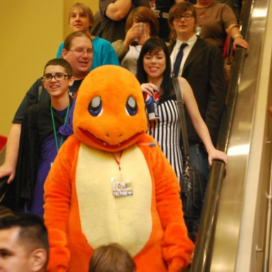Caution!!! Charmander is right here
